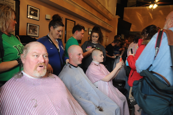 Head Shave for Hope House